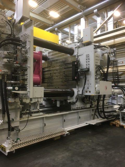 Ryobi Aluminium Castings (UK) Ltd install new 2500t High